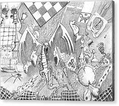 Disintegration Of Sorts Acrylic Print by Dan Twyman