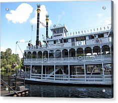 Disneyland Park Anaheim - 12124 Acrylic Print by DC Photographer