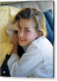 Dolores Hart Acrylic Print by Silver Screen