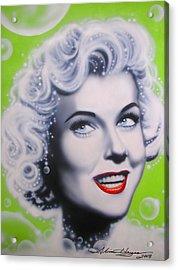 Doris Day Acrylic Print by Alicia Hayes