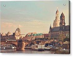 Dresden Acrylic Print by Steffen Gierok