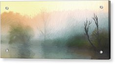 Early In The Morning Acrylic Print by Steve K