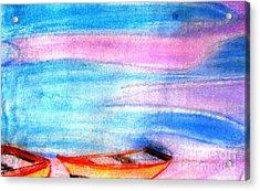 Early Morning Acrylic Print by Duygu Kivanc