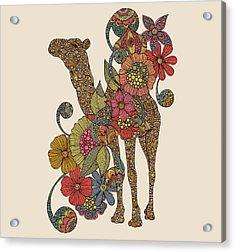 Easy Camel Acrylic Print by Valentina