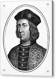 Edward Iv (1442-1483) Acrylic Print by Granger