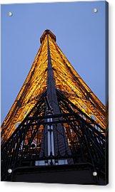 Eiffel Tower - Paris France - 01135 Acrylic Print by DC Photographer