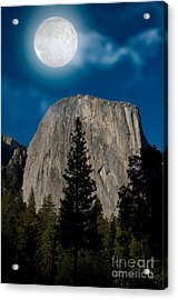 El Capitan, Yosemite Np Acrylic Print by Mark Newman