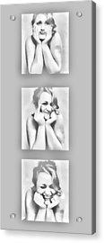 Emotions Acrylic Print by Kristie  Bonnewell