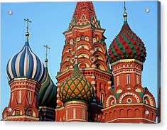 Europe, Russia, Moscow Acrylic Print by Kymri Wilt