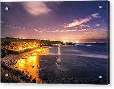 Evening At Hookipa Acrylic Print by Hawaii  Fine Art Photography