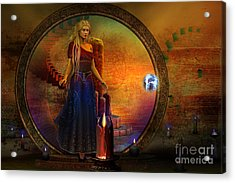 Evermore Acrylic Print by Shadowlea Is