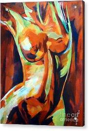 Exhilaration Acrylic Print by Helena Wierzbicki