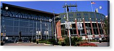 Facade Of A Stadium, Lambeau Field Acrylic Print by Panoramic Images