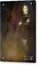 Fantasy Portrait Acrylic Print by Amanda Elwell