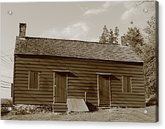 Farmhouse  Acrylic Print by Frank Romeo