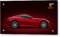 Ferrari 599 Gtb Acrylic Print by Douglas Pittman