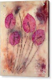 Flowers Acrylic Print by Tami Lowry