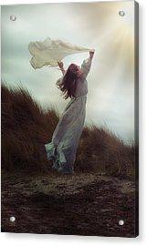 Flying Acrylic Print by Joana Kruse