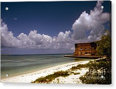 Fort Jefferson  Acrylic Print by Skip Willits