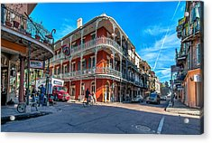 French Quarter Afternoon Acrylic Print by Steve Harrington