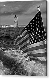 From The Tug Acrylic Print by Robert Pilkington