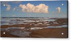 Gowlane Beach Acrylic Print by Barbara Walsh