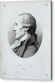 Granville Sharp Acrylic Print by British Library
