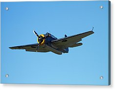 Grumman Avenger (with Folding Wings Acrylic Print by David Wall