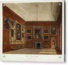 Hampton Court Acrylic Print by British Library