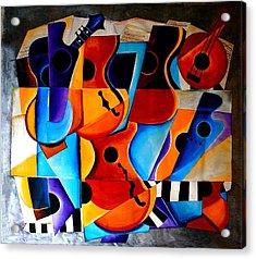Harmony Acrylic Print by Vel Verrept