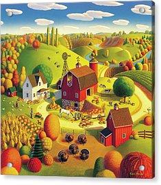 Harvest Bounty Acrylic Print by Robin Moline