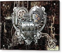 Heart Acrylic Print by Diuno Ashlee