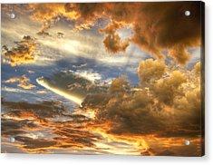 Heavenly Skies  Acrylic Print by Saija  Lehtonen