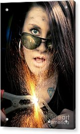 High Voltage Acrylic Print by Jorgo Photography - Wall Art Gallery
