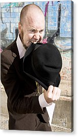 I Will Eat My Hat Acrylic Print by Jorgo Photography - Wall Art Gallery