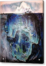 Iceberg Acrylic Print by Tanya Kimberly Orme