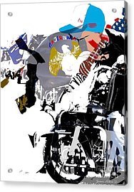 In It Together Acrylic Print by Robert Jensen