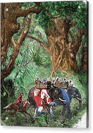 India Sepoy Rebellion (1857 Acrylic Print by Prisma Archivo