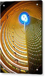 Interiors Of Jin Mao Tower Looking Acrylic Print by Panoramic Images