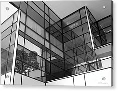 Iowa State University Parks Library Acrylic Print by University Icons