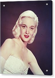 Jan Sterling Acrylic Print by Silver Screen