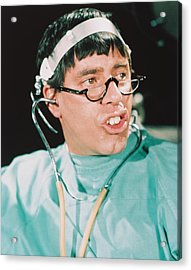 Jerry Lewis In The Disorderly Orderly Acrylic Print by Silver Screen