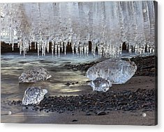 Jewels Of Superior Acrylic Print by Mary Amerman