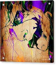 Joker Collection Acrylic Print by Marvin Blaine