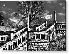 Kalemegdan Fortress Stairs Acrylic Print by Milan Karadzic
