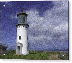 Kilauea Lighthouse Acrylic Print by Renee Skiba