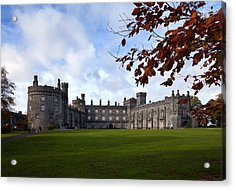 Kilkenny Castle - Rebuilt In The 19th Acrylic Print by Panoramic Images
