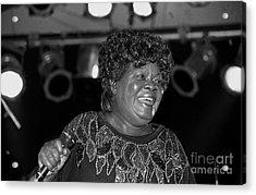 Singer Koko Taylor Acrylic Print by Concert Photos