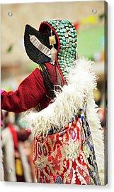 Ladakh, India Married Ladakhi Women Acrylic Print by Jaina Mishra