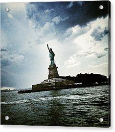 Lady Liberty Acrylic Print by Natasha Marco